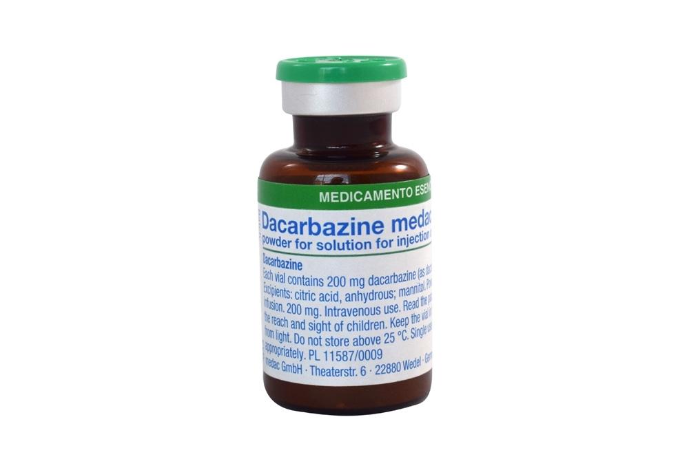 Dacarbazine Medac Polvo Liofilizado 200 mg 1 Vial Rx4