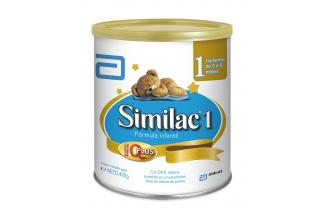 Similac 1 Lactantes 0 a 6 Meses Tarro Con 400 g