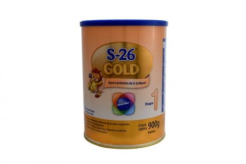 S-26 Gold 0 a 6 Meses Tarro Con 900 g