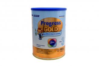 Progress Gold Etapa 3 Alimento Lácteo En Polvo Tarro Con 900 g