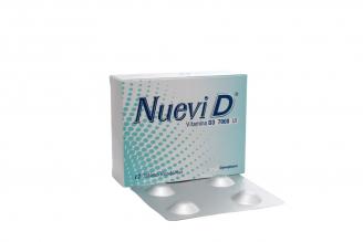 Nuevi D 7000 U.I Caja Con 12 Tabletas Recubiertas Rx4