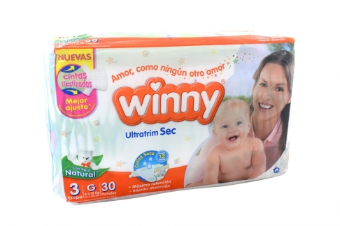 Winny Ultratrim Sec Paca Con 30 Unidades - Etapa 3