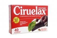 Ciruelax Minitabs 75 mg Caja Con 40 Comprimidos Recubiertos