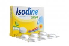 Isodine Caja Con 6 Tabletas - Sabor A Límon