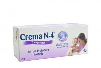 Crema N° 4 Transparente Caja Con Tubo 30 g