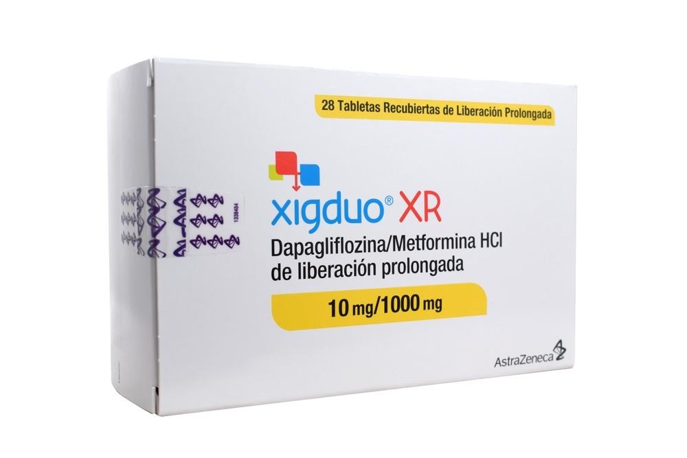 Comprar Xigduo® XR Caja Con 28 Tabletas. En Farmalisto
