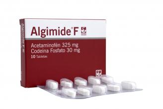 Algimide F 325 / 30 mg Caja Con 10 Tabletas Rx
