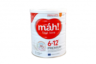 Máh First Love Premium Tarro Con 400 g - 6 a 12 Meses