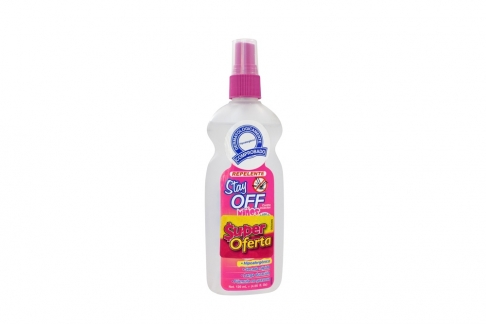 Repelente Stay Off Niños Spray Con 120 mL