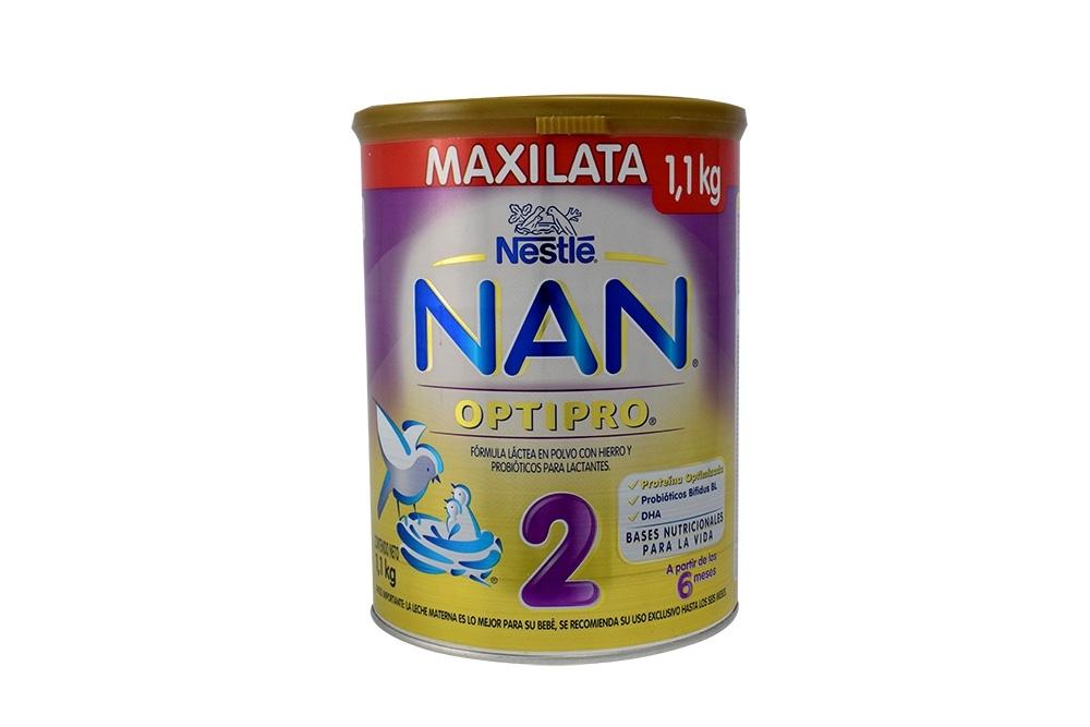 Comprar NAN Optipro 2 Tarro 1100 g En Farmalisto Colombia. 67f7a5eab33d5