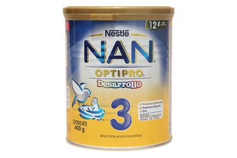 NAN Optipro 3 Desarrollo Tarro Con 400 g