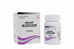 Abalam 600 / 300 mg Caja Con Frasco Con 30 Tabletas Rx4