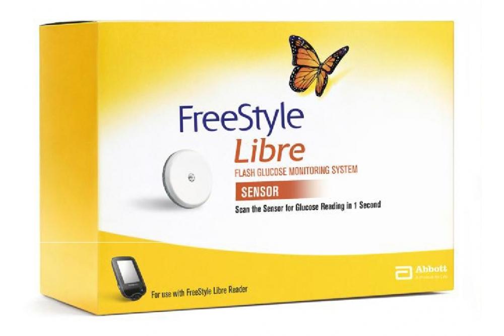 FreeStyle Libre Sensor Lector De Glucosa Caja Con 1 Unidad