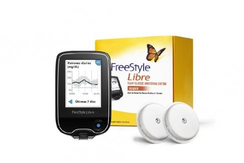 Kit Promocional FreeStyle Libre Caja Con 1 Lector 40% OFF + 2 Sensores