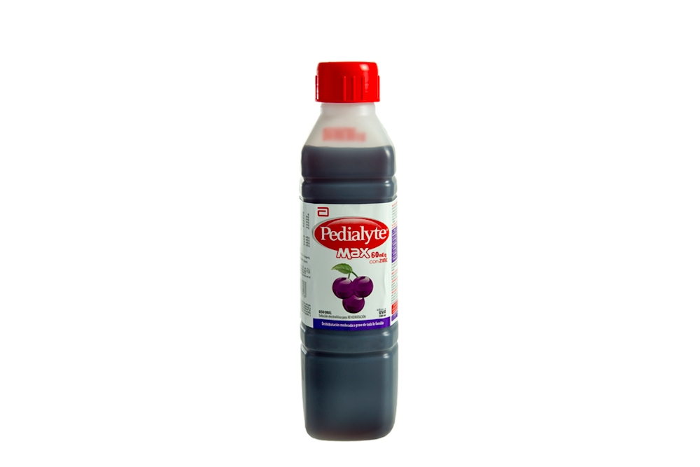 Comprar Pedialyte Max 60 Frasco 500 mL Uva. Farmalisto