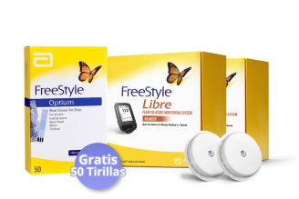 FreeStyle Libre Te Regala 50 Tirillas