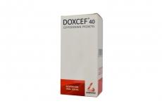 Doxcef Suspensión 40 mg / 5 mL Caja Con Frasco Con 100 mL Rx2