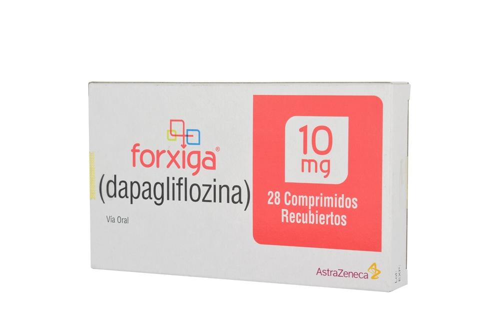 Forxiga 10 mg Caja Con 28 Comprimidos Recubiertos Rx4