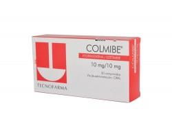 Colmibe 10 / 10 mg Caja Con 30 Comprimidos Rx