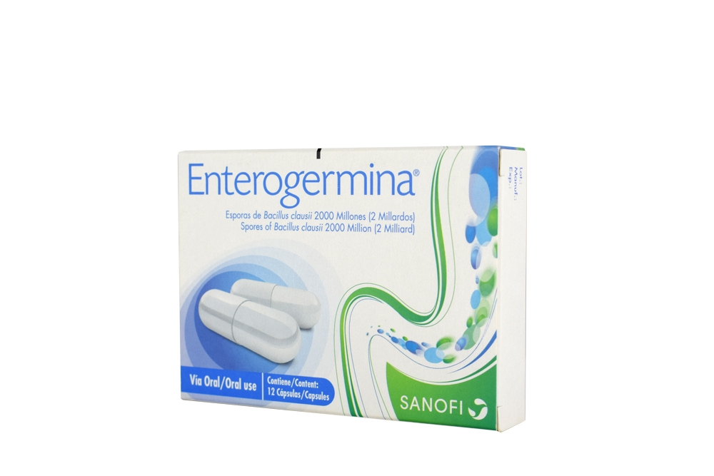 Enterogermina ® Caja Con 12 Cápsulas