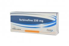 Terbinafina 250 mg Caja Con 14 Tabletas RX