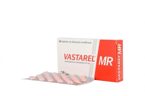 Vastarel MR 35 mg Caja Con 60 Tabletas De Liberación Modificada Rx4