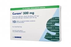 Curam 500 / 125 mg Caja Con 12 Tabletas Con Pelicula Rx2