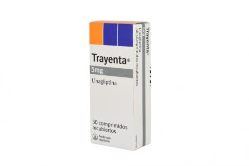 Trayenta 5 mg Caja Con 30 Comprimidos Recubiertos Rx4