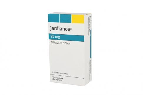 Jardiance 25 mg Caja Con 30 Tabletas Recubiertas RX4