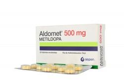 Aldomet 500 mg Caja X 30 Tabletas Rx