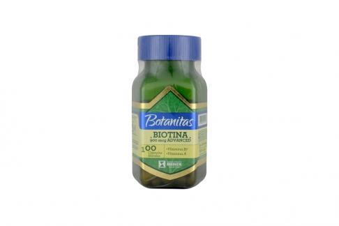 Biotina 900 mcg Frasco Con 100 Cápsulas Blandas - Vitamina B7