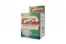Cafidol 400 / 322 / 25 mg Caja Con 100 Tabletas
