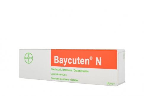 Baycuten N Caja Con Tubo Con 20 g Rx