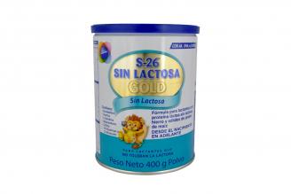 S-26 Sin Lactosa Gold Tarro Con 400 g