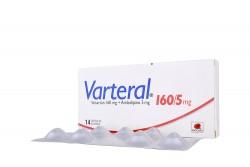 Varteral 160 / 5 mg Caja Con 14 Cápsulas Rx4