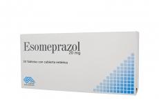 Esomeprazol 20 mg Caja X 30 Tabletas Rx