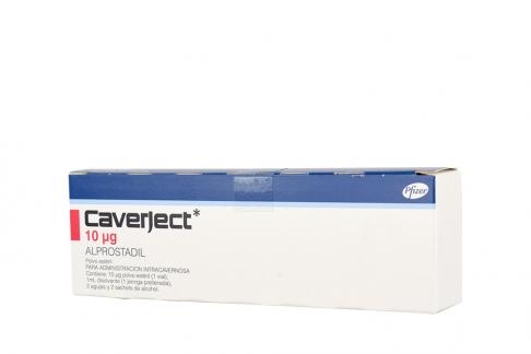 Caverject 10 mcg Estuche Con 1 Jeringa Prellenada Rx