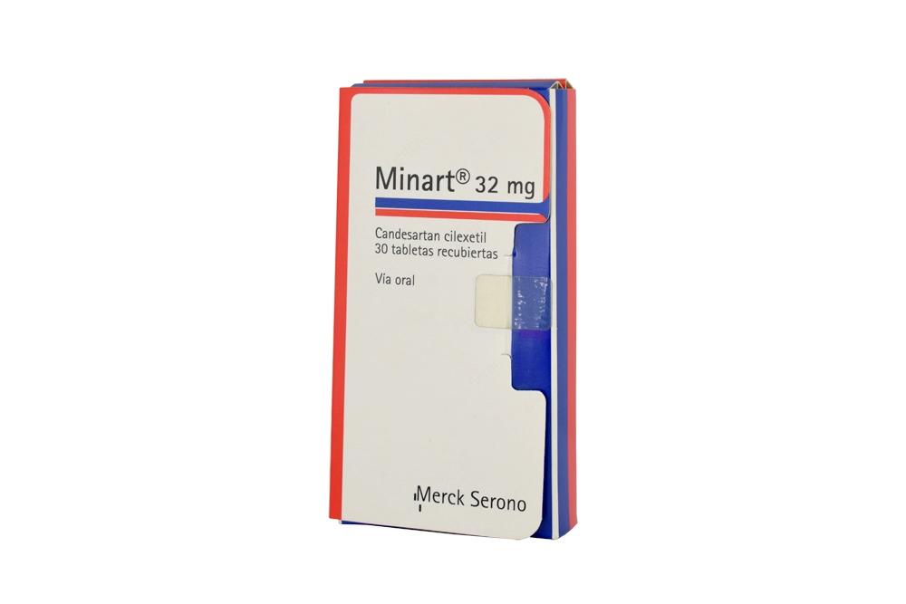 Minart 32 mg Caja Con 30 Tabletas Recubiertas Rx4