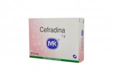 Cefradina 1 g Caja Con 6 Tabletas Rx2