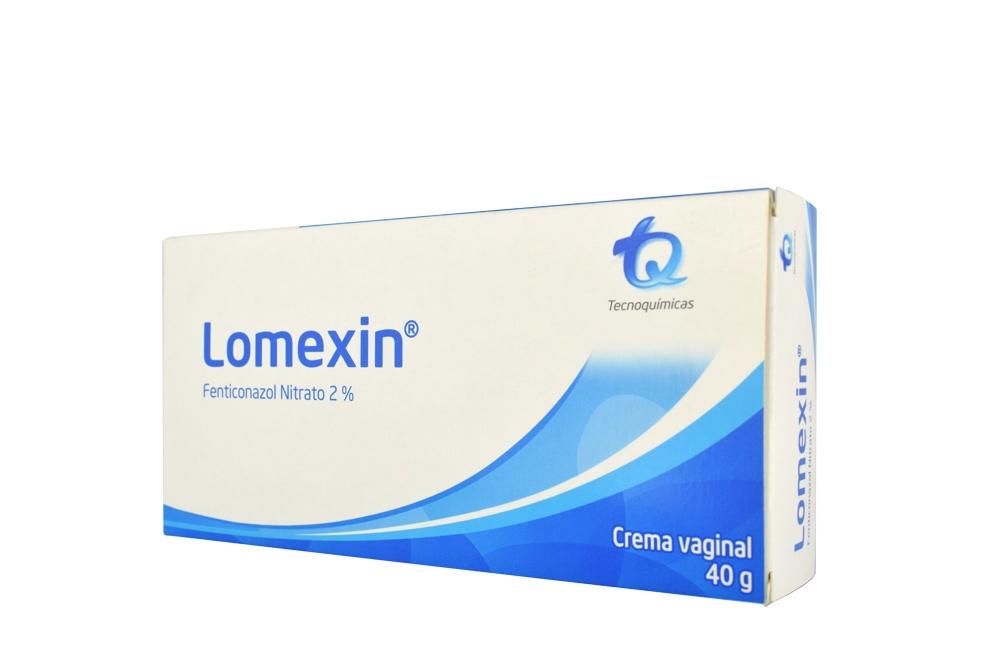 Lomexin 2 % Crema Vaginal Caja Con Tubo Con 40 g Rx