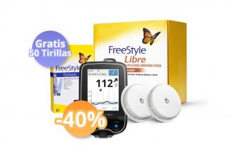 FreeStyle Combo 2 Sensores + Lector (-40%) + 50 Tirillas