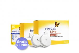 FreeStyle Combo 2 Sensores + 50 Tirillas (Gratis)