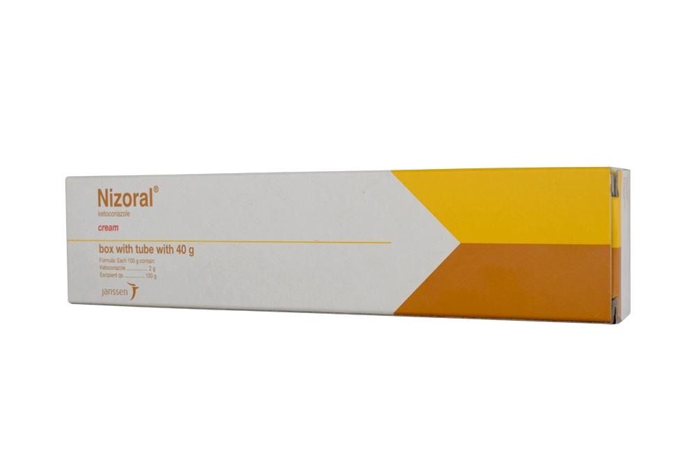 Nizoral Crema 2 g Caja Con Tubo Con 40 g Rx