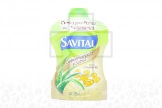 Crema Para Peinar Savital Bolsa Con 25 mL – Vida & Crecimiento