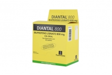 Diantal 800 mg Caja Dispensadora Con 100 Tabletas RX