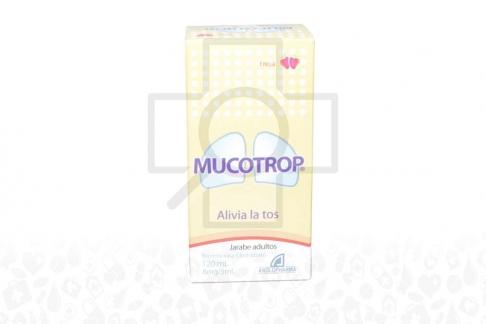 Mucotrop Jarabe 8 Mg / 5 mL Caja Con Frasco Con 120 mL Rx