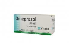 Omeprazol Polvo 40 mg Caja Con 10 Ampollas Rx