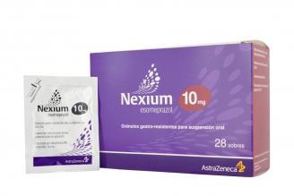 Nexium Gránulos 10 mg Caja Con 28 Sobres Rx