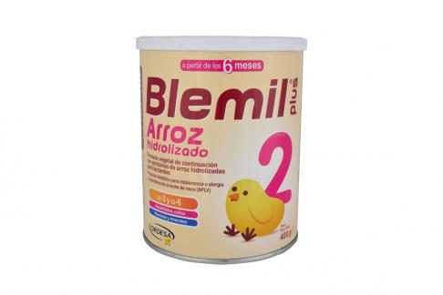 Blemil Plus 2 Arroz Hidrolizado Desde 6 Meses Tarro Con 400 g