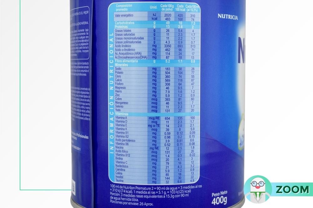 Comprar Nutrilon Premature 2 Tarro 400 G En Farmalisto